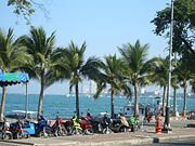 Die Beach Road in Pattaya / Thailand